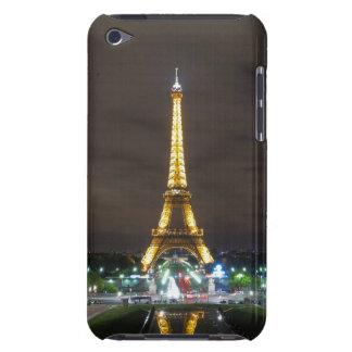 Eiffel Tower at Night, Paris iPod Case-Mate Cases