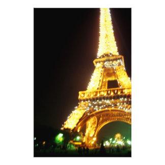 Eiffel Tower at Night Photo Print