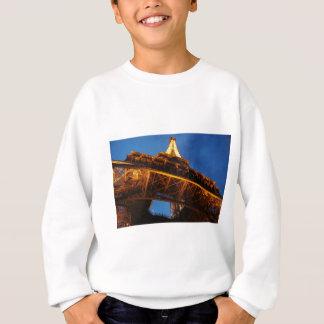 Eiffel Tower at Night Sweatshirt