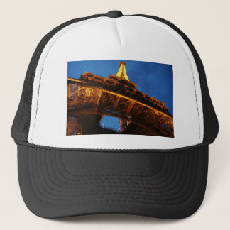 Eiffel Tower at Night Trucker Hat