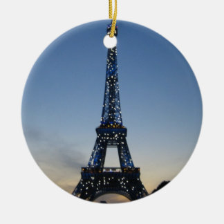 Eiffel Tower at Sundown ornament