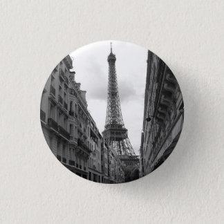Eiffel Tower Badge 1 Inch Round Button