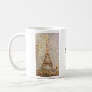 Eiffel Tower Basic White Mug