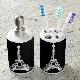 Eiffel Tower Bath Set