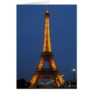 Eiffel Tower Beauty Card