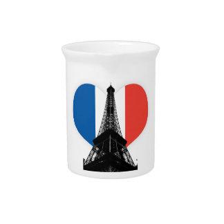 Eiffel Tower Beverage Pitcher