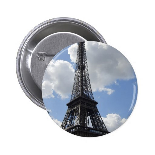 Eiffel Tower Pinback Button