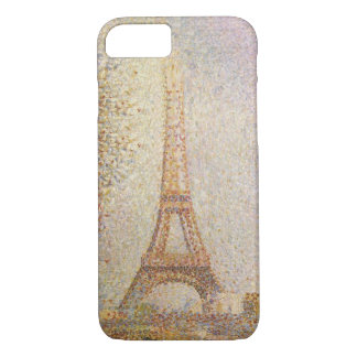 Eiffel Tower by Georges Seurat iPhone 7 Case