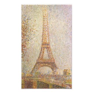 Eiffel Tower by Georges Seurat Photograph