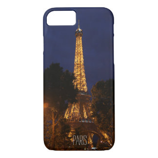 Eiffel Tower by Night in Paris Case