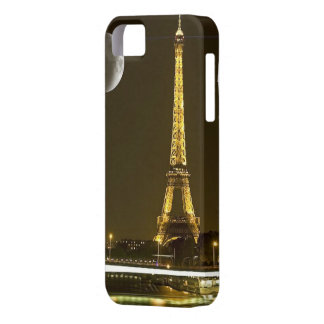 Eiffel Tower by Night - iPhone 5/5S, Vibe iPhone 5 Covers