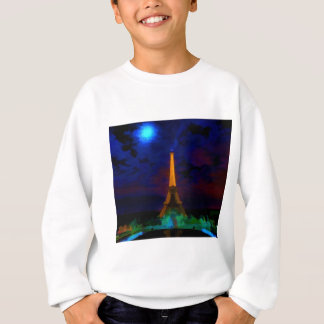 Eiffel_Tower_by_nightwaterlarge22 Sweatshirt
