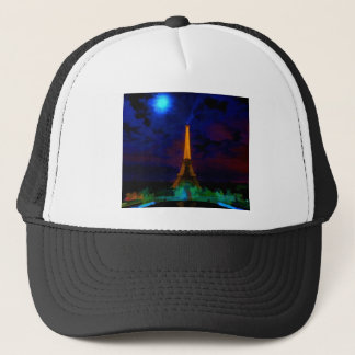 Eiffel_Tower_by_nightwaterlarge22 Trucker Hat