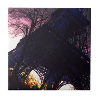 Eiffel Tower Ceramic Tile