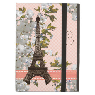 Eiffel Tower Cherry Blossom Cover For iPad Air