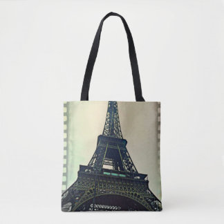 Eiffel Tower-Color Tote Bag