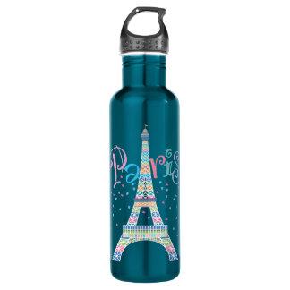 Eiffel Tower Confetti 24 oz. Electric Blue
