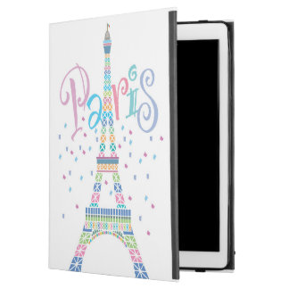 Eiffel Tower Confetti iPad Pro Case
