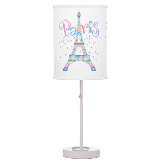 Eiffel Tower Confetti Table Lamp