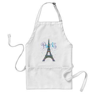 Eiffel Tower Fantasy Apron