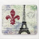 Eiffel Tower France Mousepad