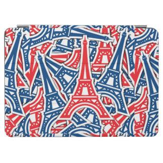 Eiffel Tower, France Pattern iPad Air Cover