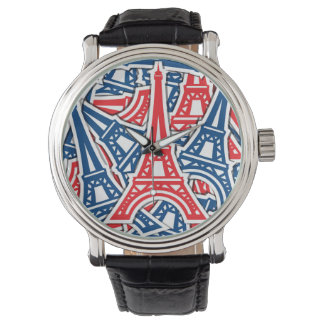 Eiffel Tower, France Pattern Watch