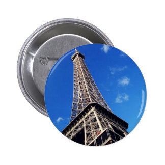 Eiffel Tower France Travel Photography 2 Inch Round Button