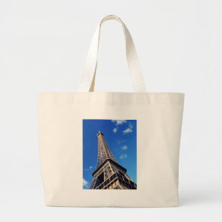 Eiffel Tower France Travel Photography Large Tote Bag
