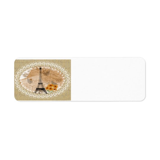 Eiffel Tower French Postcards