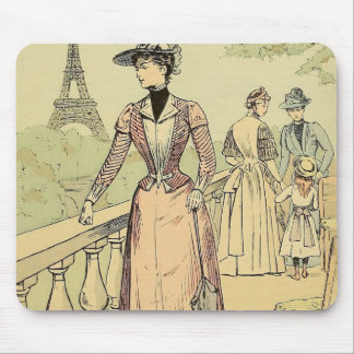 Eiffel Tower from the Exhibition Gardens 1889 Mouse Pad