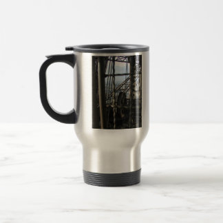 Eiffel Tower Gears Travel Mug