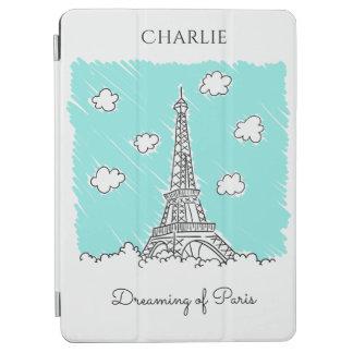 Eiffel Tower Illustration custom device covers