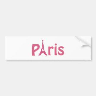 Eiffel Tower Image Bumper Sticker