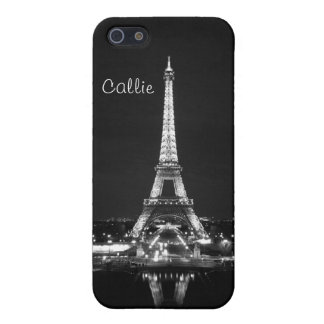 Eiffel Tower in black & white II iPhone 5/5S Cover