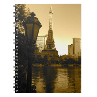 Eiffel Tower in Las Vegas Notebook