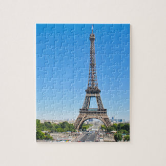 Eiffel Tower in Paris, France Puzzles