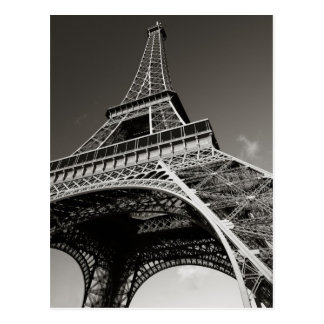 eiffel tower in paris postcard