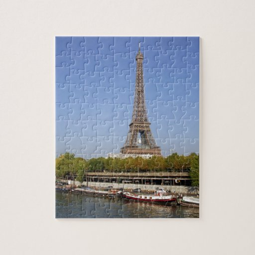 Eiffel tower in Paris Jigsaw Puzzles