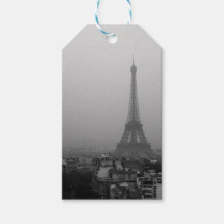 Eiffel Tower in the mist Gift Tags