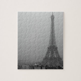 Eiffel Tower in the mist Jigsaw Puzzle