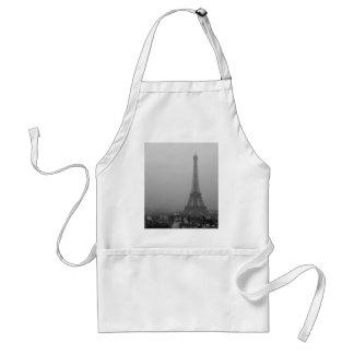 Eiffel Tower in the mist Standard Apron