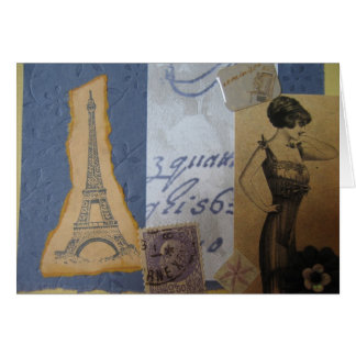 Eiffel Tower, J'Adore Card