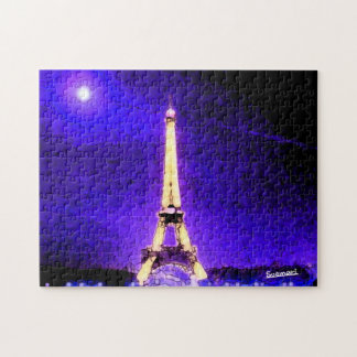 Eiffel Tower Jigsaw Puzzle