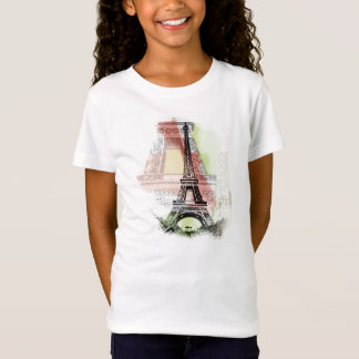 Eiffel Tower Kid's Shirt