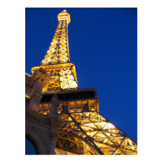 Eiffel Tower, Las Vegas, Nevada Postcard