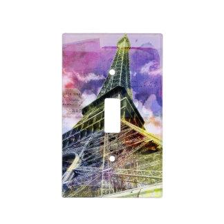 Eiffel Tower Light Switch Plate