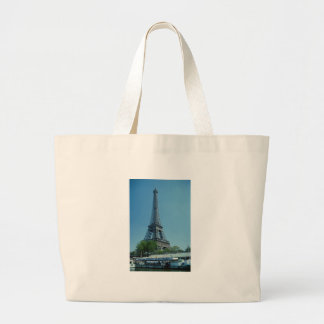 Eiffel Tower Longshot Canvas Bag
