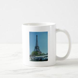 Eiffel Tower Longshot Basic White Mug