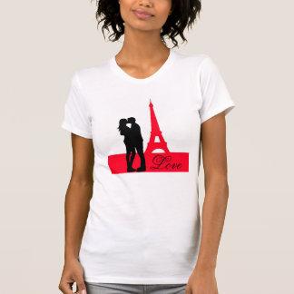 Eiffel Tower Love Silhouette T-Shirt